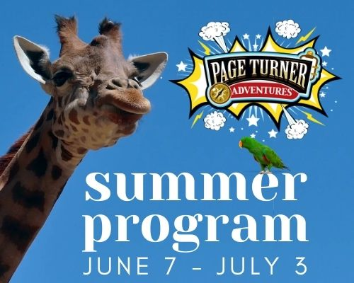 Page Turner Adventure Summer Program June 7-July3
